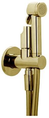 F2310OR 2310 GOLD WC/BIDET MIX.VALVE WITH INTEGR.DOUCHE HANDSET HOLDER,