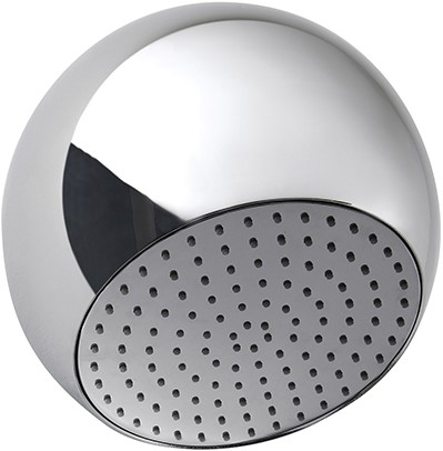 F2340CRB Wellness - Wall mounted Sfera brass showerhead