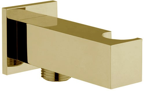 F2438OR Wellness - Brass holder with water connection 1/2''