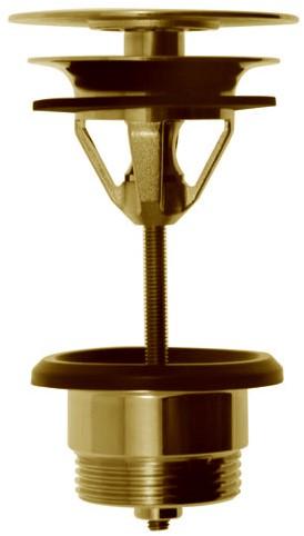 F2678OR Sottolavabo - Brass pop-up waste 1''1/4 - always open
