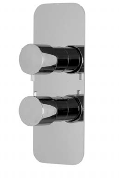 F3229X7NS Thermostatic mixer for concealed installation with 2/3 outlets diverter
