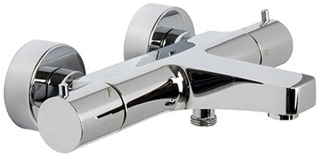 F4274/1CR Exposed thermostatic bath mixer without shower set
