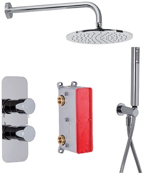 F4409CR 2 outlets shower set