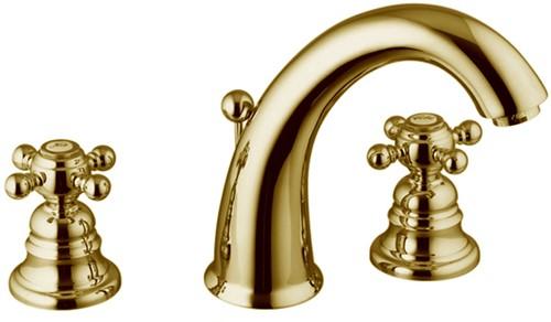 F5101OR Three-holes basin tap