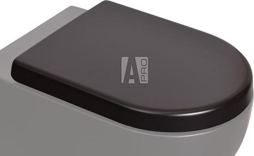 QKCW03GRA App toiletzitting met soft-close en quick release