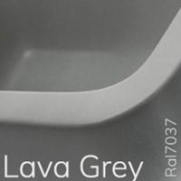 5050/42CGLA TWIN SET 42 opzet wastafel - Kleur: LAVA GREY