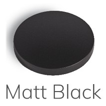 ML001 Mat Zwart Toiletborstel garnituur Mat Zwart Atlanta