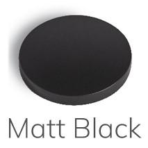 XO09 Mat Zwart Handdoekhaak mat zwart