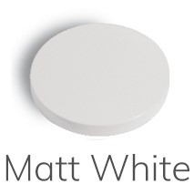 F3041BS.1 3041.1 WHITE MATT WASH BASIN MIXER WITH SWIVEL SPOUT L/SPILLO UP
