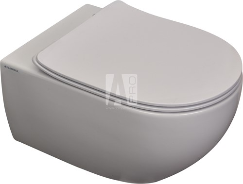AP118G APP GoClean® wandcloset - Kleur: GLOSSY WHITE