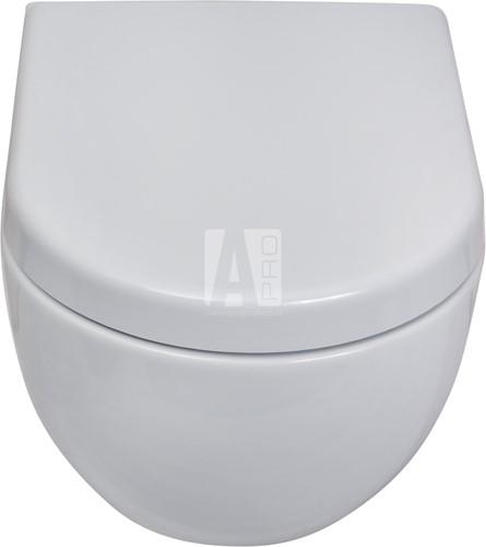 AP118G APP GoClean® wandcloset - Kleur: GLOSSY WHITE-2
