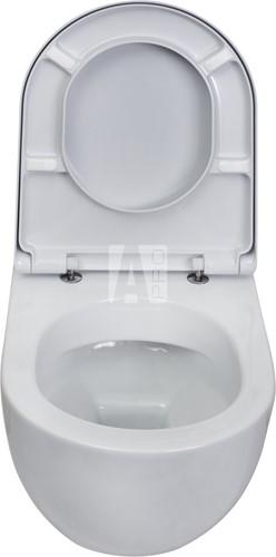 AP118G APP GoClean® wandcloset - Kleur: GLOSSY WHITE-3