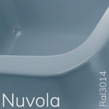 5050/42CNUV TWIN SET 42 opzet wastafel - Kleur: NUVOLA
