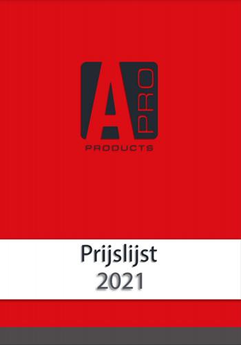 Prijslijst APRO Products 10-2021